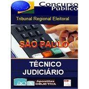 Apostila Concurso Técnico Judiciário Administrativa | TRE-SÃO PAULO (2016)