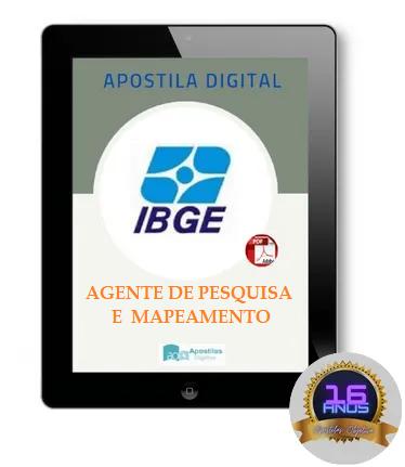 Apostila AGENTE DE PESQUISA E MAPEAMENTO | IBGE 2021