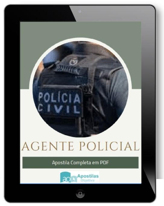 Apostila Agente Policial - 2020|Polícia Civil - SP