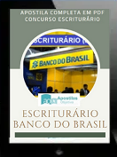Apostila Banco Do Brasil   Escriturário / Agente Comercial - 2021
