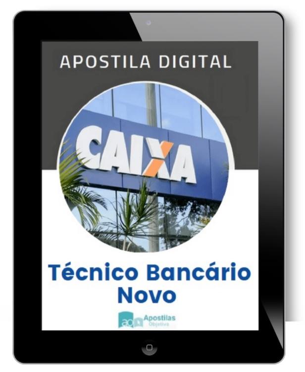 Apostila CAIXA Econômica Federal | Técnico Bancário Novo - 2021