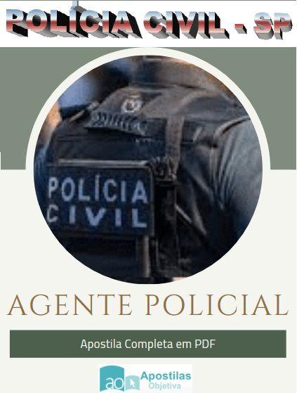 Apostila Agente Policial - 2021|Polícia Civil - SP