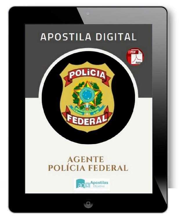 Apostila Agente PF | Polícia Federal 2021