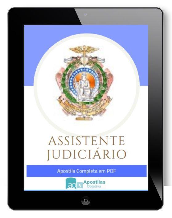 Apostila Concurso Assistente Judiciário - Cargo 12 | TJ - Amazonas