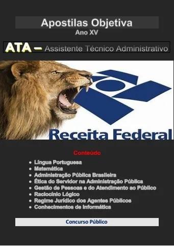 Apostila Concurso Assistente Técnico Administrativo | Ministério da Fazenda ATA (2020)