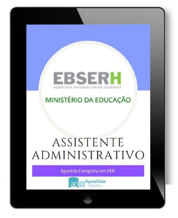 Apostila Concurso Auxiliar Administrativo | EBSERH