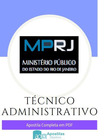 Apostila Concurso Técnico Administrativo | Ministério Público - RJ
