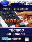 Apostila Técnico Judiciário Administrativa | TRE - SÃO PAULO