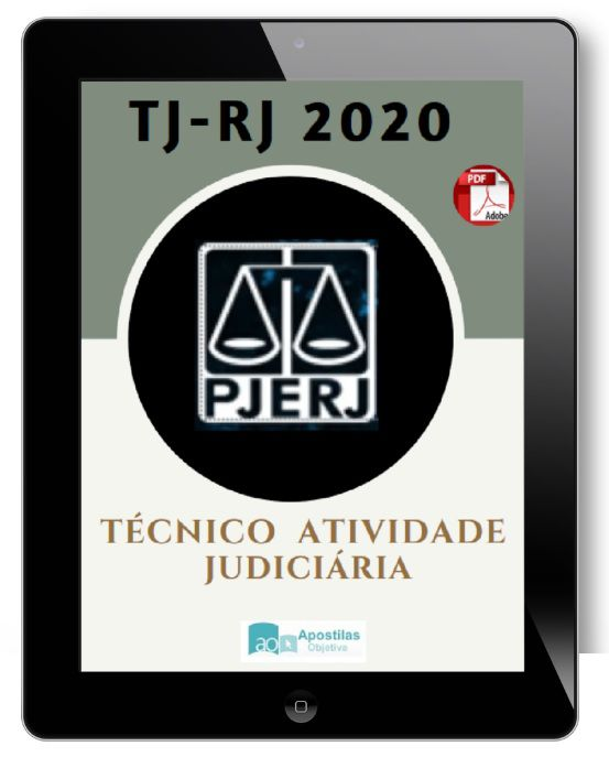 Apostila Concurso TJ RJ - 2020|Tribunal de Justiça - RJ