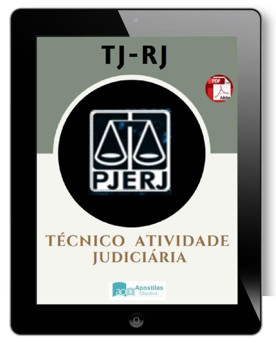 Apostila Concurso TJ RJ - 2021|Tribunal de Justiça - RJ