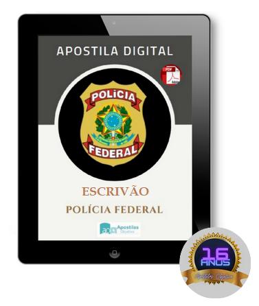 Apostila Escrivão PF | Polícia Federal (2021)
