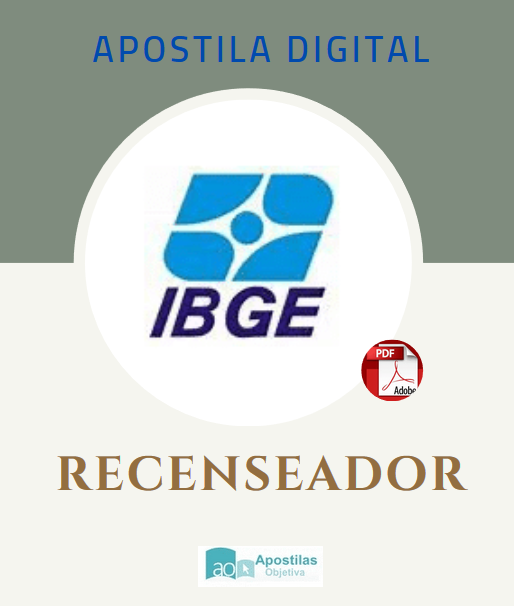 Apostila IBGE 2020 - 2021|RECENSEADOR 2020/2021