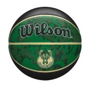 BOLA DE BASQUETE WILSON MILWAUKEE BUCKS NBA TEAM TIEDYE 7 - VERDE