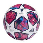 BOLA DE FUTEBOL CAMPO ADIDAS UEFA CHAMPIONS LEAGUE REPLICA FINAL ISTANBUL 20 - BRANCO