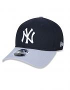 BONÉ NEW ERA 3930 HIGH CROWN MLB NEW YORK YANKEES - MARINHO E CINZA