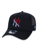 BONÉ NEW ERA  940 A-FRAME MLB NEW YORK YANKEES - PRETO