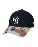 BONÉ NEW ERA 940 NEW YORK YANKEES MLB - PRETO E  CAMUFLADO