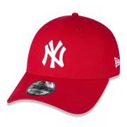 BONÉ NEW ERA 9FORTY MLB NEW YORK YANKEES CORE LEAGUE - VERMELHO