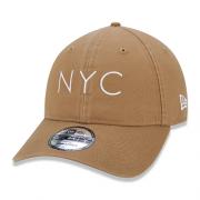 BONÉ NEW ERA 9FORTY NEW YORK CITY NYC - BEGE