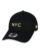 BONÉ NEW ERA 9TWENTY SIMPLE SIGNATURE FLUOR NYC NEW YORK CITY - AMARELO FLUOR