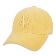 BONÉ NEW ERA FEMININO 9FORTY MLB NEW YORK YANKEES PASTEL COTELÊ - AMARELO