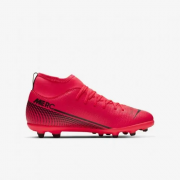 CHUTEIRA CAMPO NIKE MERCURIAL SUPERFLY 7 CLUB INFANTIL - PINK
