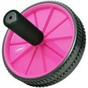 Roda de Exercicios LiveUp - Rosa