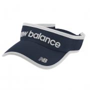 Viseira  New Balance Logo - Marinho e Branco