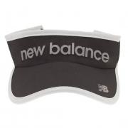 Viseira New Balance Logo - Preto e Cinza