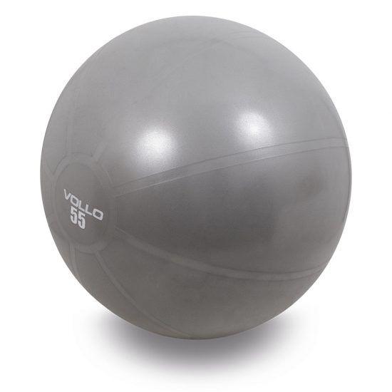 Bola de Exercícios Vollo  55cm - Cinza