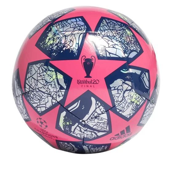 BOLA DE FUTEBOL CAMPO ADIDAS UEFA CHAMPIONS LEAGUE TRAINING REPLICA FINAL ISTANBUL 20 - ROSA