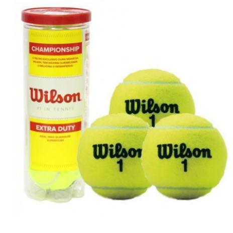 Bola Tennis Wilson Championship - ( Tubo Com 3 )