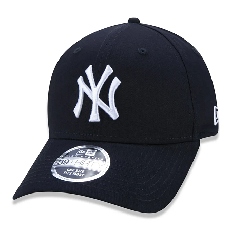 BONÉ NEW ERA 39THIRTY HIGH CROWN MLB NEW YORK YANKEES - MARINHO