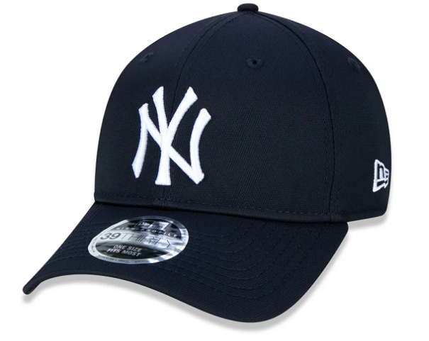 BONÉ NEW ERA 39THIRTY HIGH CROWN MLB NEW YORK YANKEES - MARINHO
