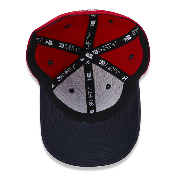 BONÉ NEW ERA 39THIRTY MLB BOSTON RED SOX CORE 2TONE - VERMELHO E MARINHO