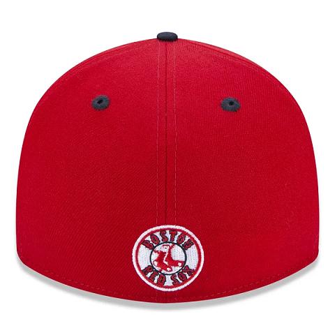 BONÉ NEW ERA 39THIRTY MLB BOSTON RED SOX CORE 2TONE - VERMELHO E MARINHO