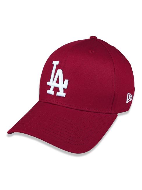 BONÉ NEW ERA 39THIRTY MLB LOS ANGELES DODGERS - BORDO