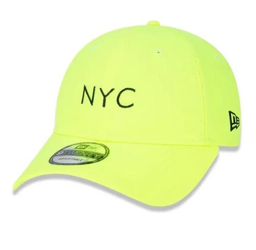 BONÉ NEW ERA 920 NYC NEW YORK CITY FLUOR - LIME
