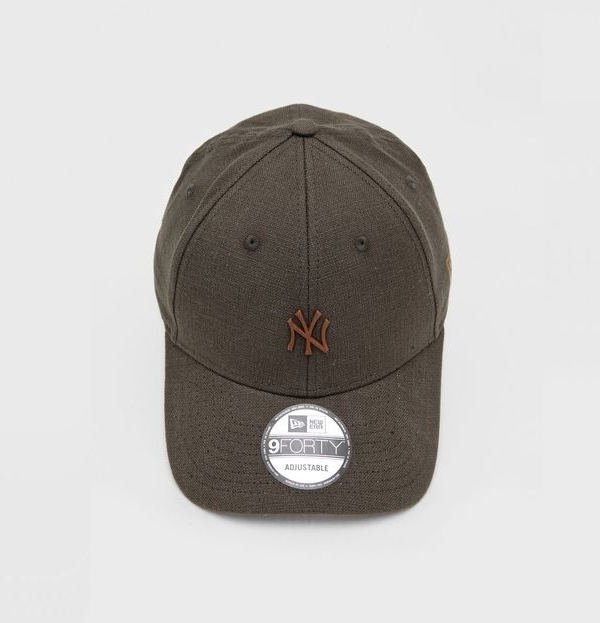 BONÉ NEW ERA 940 NEW YORK YANKEES MLB -  VERDE ESCURO