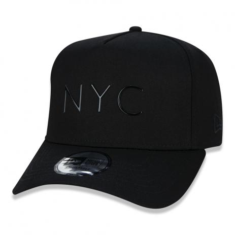 BONÉ NEW ERA 940 A-FRAME NYC - PRETO