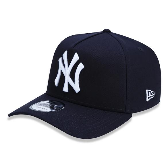 BONÉ NEW ERA 9FORTY A-FRAME MLB NEW YORK YANKEES - MARINHO