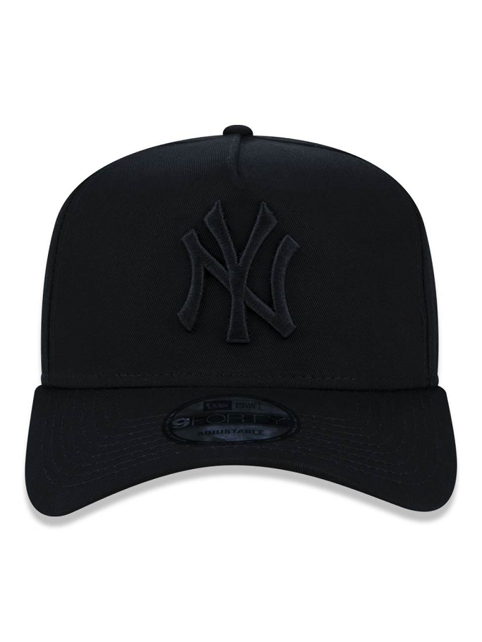 BONÉ NEW ERA 9FORTY A-FRAME MLB NEW YORK YANKEES - PRETO