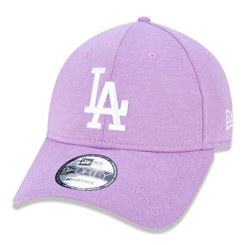 BONÉ NEW ERA 9FORTY MLB LOS ANGELES DODGERS JERSEY PACK - LILÁS
