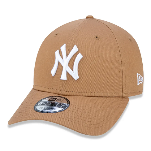 BONÉ NEW ERA 9FORTY MLB NEW YORK YANKEES KAKI - BEGE