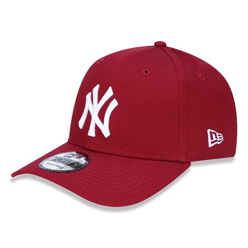 BONÉ NEW ERA 9FORTY MLB NEW YORK YANKEES - VINHO