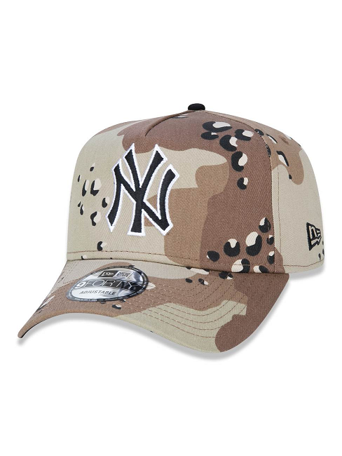 BONÉ NEW ERA 9FORTY NEW YORK YANKEES MLB - CAMUFLADO