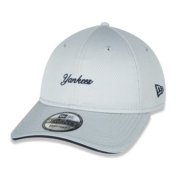 BONÉ NEW ERA 9TWENTY MLB NEW YORK YANKEES ALKALINE BRIGHT - CINZA