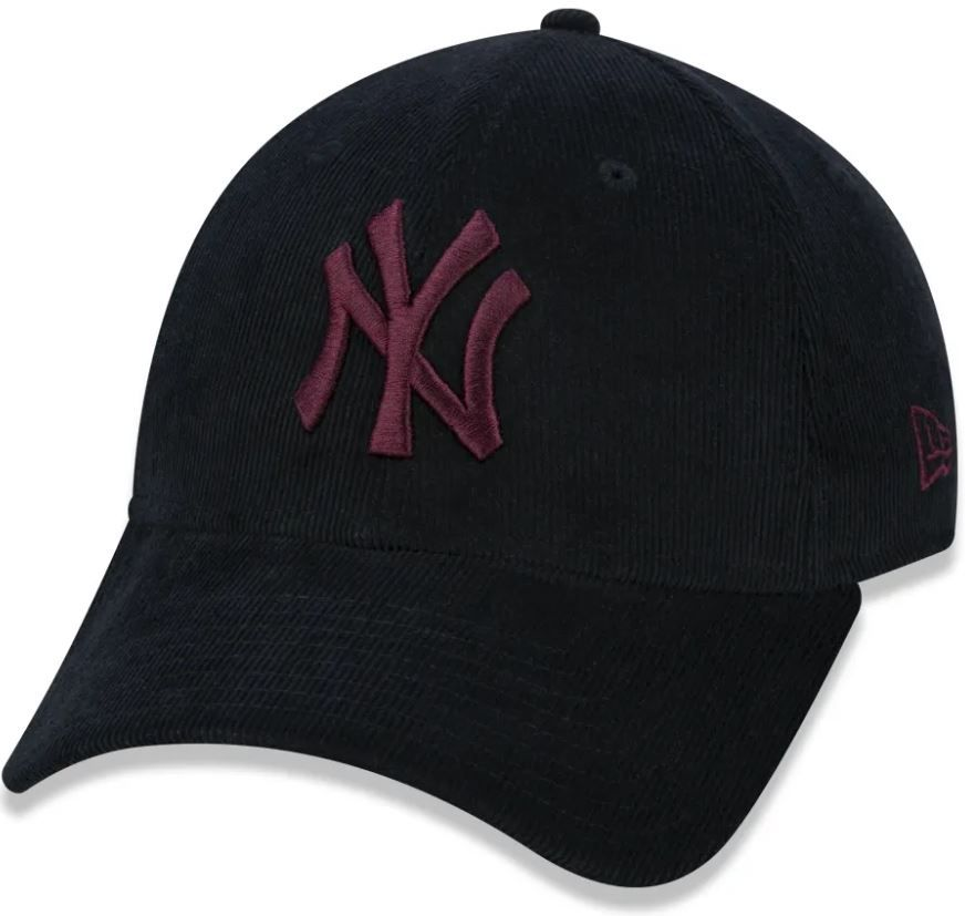 BONÉ 940 MLB NEW YORK YANKEES - PRETO E VINHO