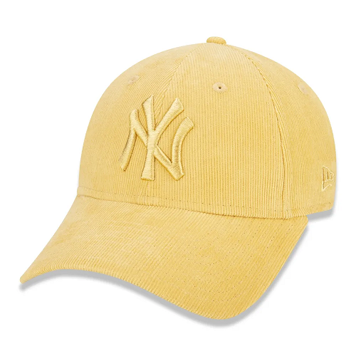 BONÉ NEW ERA FEMININO 9FORTY MLB NEW YORK YANKEES PASTEL COTELÊ - AMARELO
