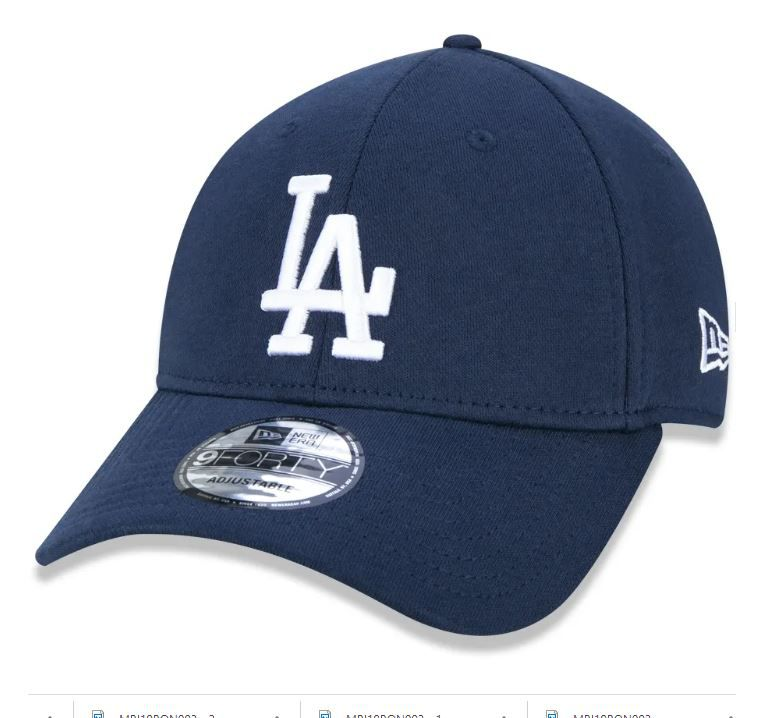 BONÉ NEW ERA 940 MLB LOS ANGELES DODGERS JERSEY PACK - MARINHO